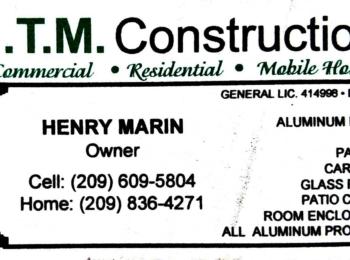 H.T.M. Construction